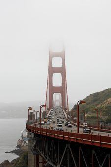 Free Golden Gate Bridge Royalty Free Stock Photos - 15083438