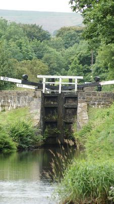 Free Canal Lock Royalty Free Stock Image - 15084196