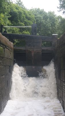 Canal Lock Stock Photos