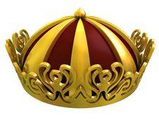 Free Gold Royal Crown Stock Photo - 15084390