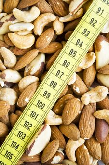 Free Background Of Mixed Nuts Stock Photos - 15084433