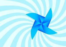 Blue Pinwheel Stock Image