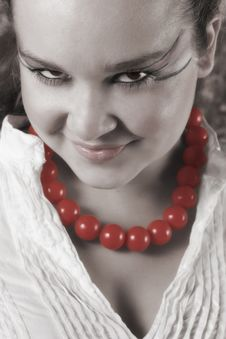 Free Vamp Woman Stock Photos - 15085023