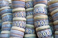 Ceramic Handiwork Stock Photography