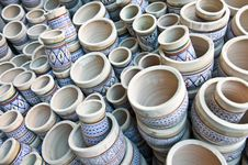 Free Pottery Handiwork Royalty Free Stock Photo - 15086135