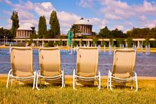 Free Deckchairs Stock Image - 15086201