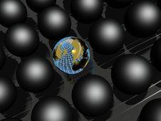 Free Earth Balls Stock Photo - 15086320
