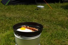 Free Camping Breakfast Stock Photo - 15086430