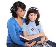 We Read Together Royalty Free Stock Photo