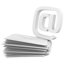 Free @ Symbol And Envelope Stock Image - 15087611