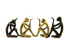 Human Brass Ware Stock Photo