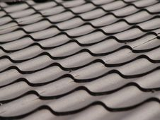 Corrugated Roof Stock Images