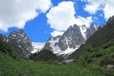 Free High Mountain Valley Stock Photos - 15087973