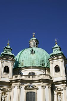 Free Vienna Church Tower Royalty Free Stock Photos - 15088958