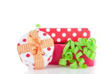 Free Colorful Dotted Presents Royalty Free Stock Photography - 15088967