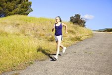 Free Woman Exercising Stock Photography - 15089162
