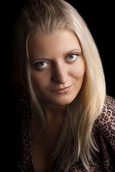 Free Portrait Young Beautiful Girl Stock Photo - 15089810