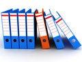 Free Folders On White Background Royalty Free Stock Image - 15093656
