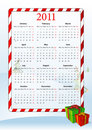 Free Vector Illustration Of European Calendar 2011 Royalty Free Stock Photo - 15098325