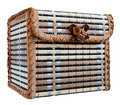 Free Wicker Box For Jewelry Stock Photography - 15098402
