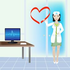 Free Cardiological Clinic Stock Photo - 15090300