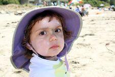 Free Child On Beach Royalty Free Stock Image - 15090526