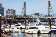 Free Yachts In A Marina, Portland Oregon. Stock Image - 15091451