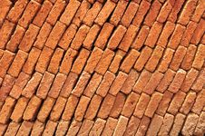 Free Brick Side View Royalty Free Stock Image - 15091616