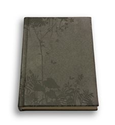 Free Closed Grey Velveteen Notebook Stock Photography - 15091732