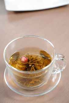 Teacup With Chinese Tea Royalty Free Stock Photography