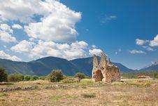 Free Zaraka Monastery At Stymfalia Royalty Free Stock Images - 15092699