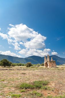 Free Zaraka Monastery At Stymfalia Stock Photo - 15092700