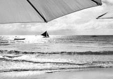 Free View Of A Sailboat Royalty Free Stock Photography - 15092847