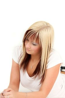 Free Teenage Girl Relaxing Stock Photos - 15093153