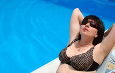 Free Swimming Pool Royalty Free Stock Photography - 15093837