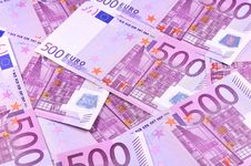 Free Background Of Euro Banknotes Stock Images - 15093904
