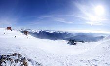 Free Panorama Of Mountains Royalty Free Stock Image - 15094726