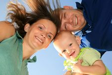 Free Happy Smiling Family Royalty Free Stock Photography - 15095167