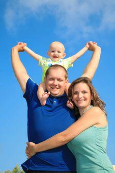 Free Fun Family Royalty Free Stock Photos - 15095198