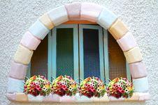 Free Brickbat Window Stock Photo - 15095740