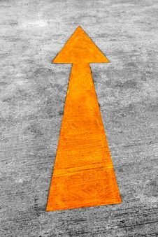 Free Road Arrow Direction Stock Photo - 15095940