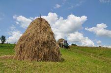 Free Hay Preparation Stock Photography - 15096372