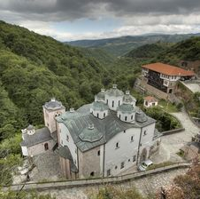 Free St. Joakim Osogovski Monastery Complex.jpg Stock Images - 15096724