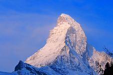 Free Good Morning Matterhorn Stock Photography - 15097642