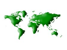 Free World Map Stock Photo - 15097660