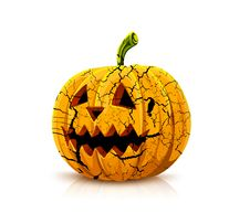 Free Halloween Pumpkin Stock Photography - 15097702