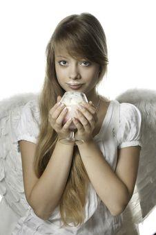 Free Sweet Angel Royalty Free Stock Photos - 15097998