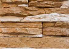 Free Uneven Stone Wall Background Royalty Free Stock Photography - 15099267