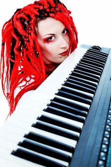 Free Synthesizer Royalty Free Stock Image - 15099836