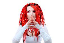 Free Vivid Girl Stock Image - 15099881